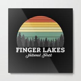 FINGER LAKES NEW Metal Print