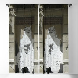 Alleyway Streetart Malaga Blackout Curtain