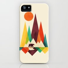 Bear In Whimsical Wild iPhone (5, 5s) Slim Case