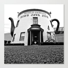 The Java Jive Canvas Print
