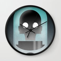 Mr. Freeze Wall Clock
