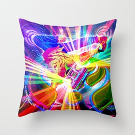 Speakerbox (Bassnectar Art) Throw Pillow