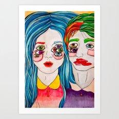 You're A Monster Too Art Print