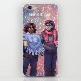 Leif & Thorn: I've Got My Love To Keep Me Warm iPhone Skin