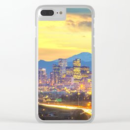 The Mile High City Clear iPhone Case