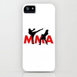 MMA iPhone Case