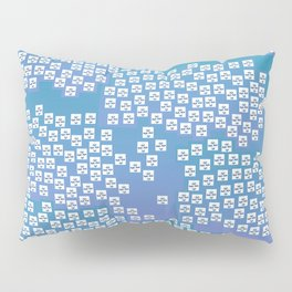 Jewelry for your Home: Blue CZ's Pillow Sham