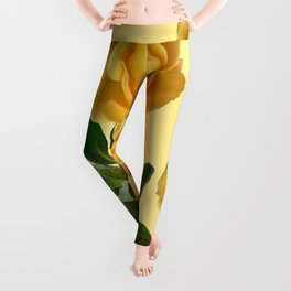 GOLDEN ROSE GARDEN Leggings