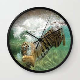 The Plunge Wall Clock