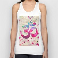 om Tank Tops featuring OM by Pranatheory