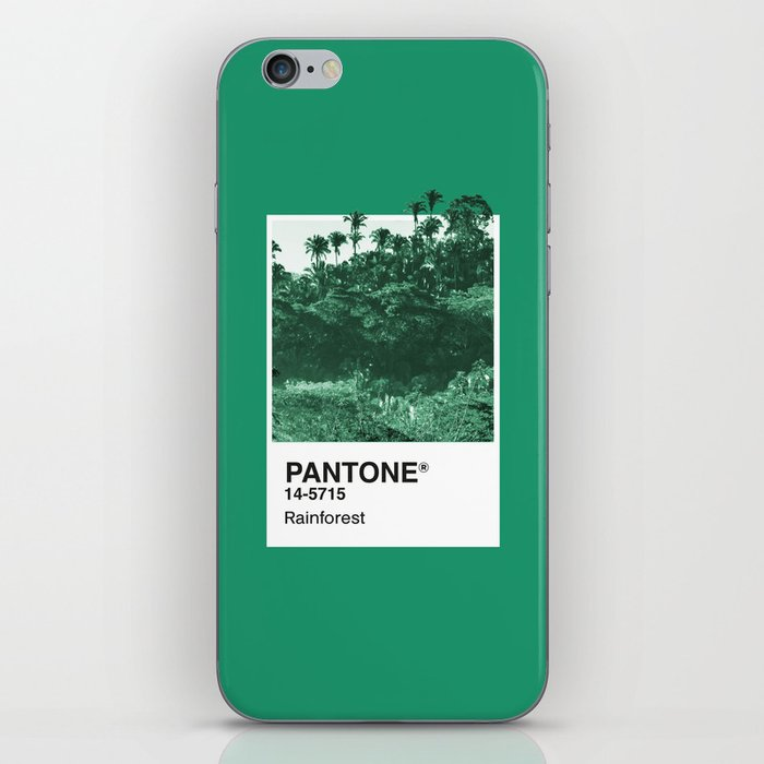PANTONE SERIES – RAINFOREST iPhone Skin