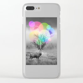 Calm Within the Chaos Clear iPhone Case