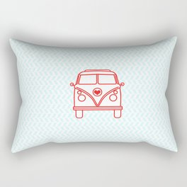 let's go wild and explore the world! Rectangular Pillow