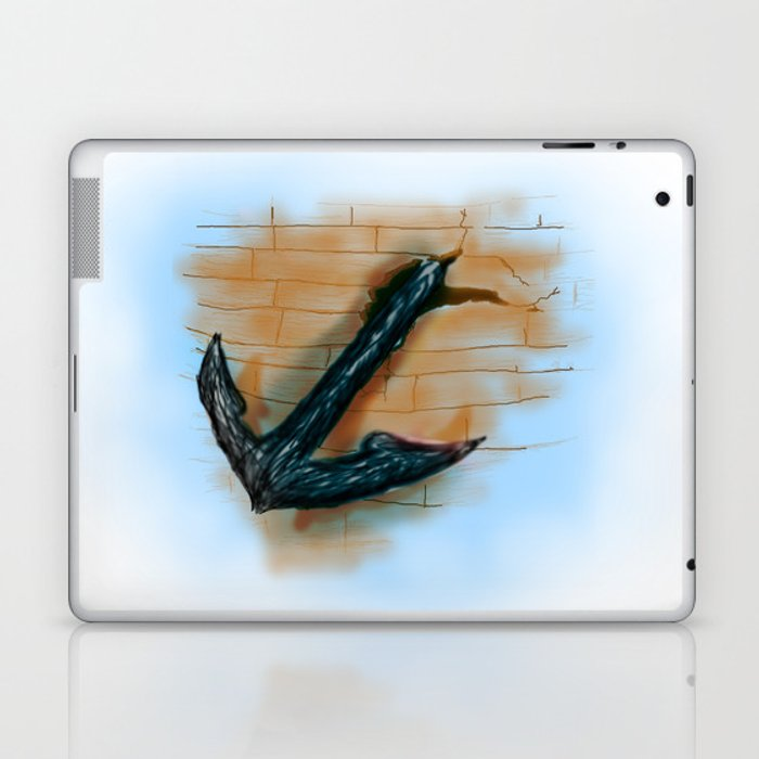 achor broken the ship Laptop & iPad Skin