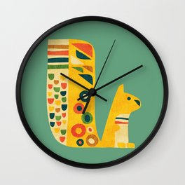 Century Squirrel Wall Clock