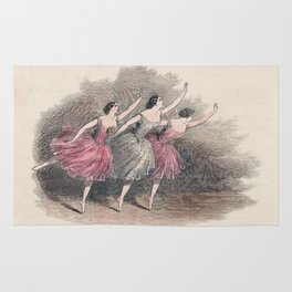 The Three Ballerinas Rug