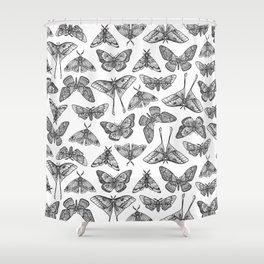 Lepidoptera Shower Curtain