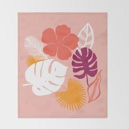 aloha, print Throw Blanket