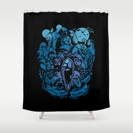 Sundered and Undone Shower Curtain