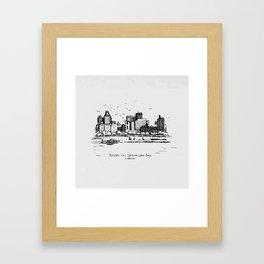 Buffalo By AM&A's 1987 Framed Art Print