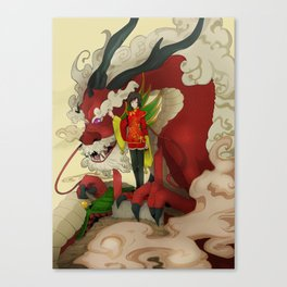 dragon keeper Canvas Print