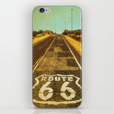 Route 66 Road Marker iPhone & iPod Skin