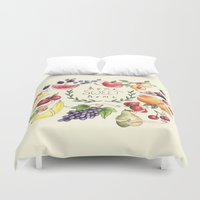 home sweet home Duvet Covers featuring Home Sweet Home by Brooke Weeber