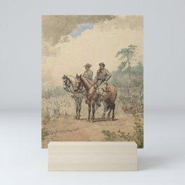 Two Scouts by Winslow  Mini Art Print