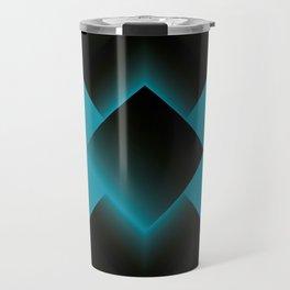 two energies blue black tower Travel Mug