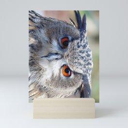 Eurasian Eagle-Owl, Uhu Mini Art Print