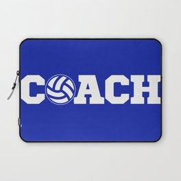 Coach Volleyball Laptop Sleeve