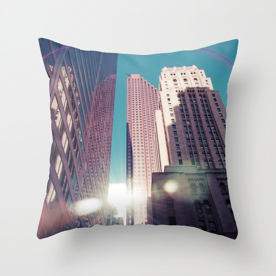 Bam! Flare!.. Throw Pillow