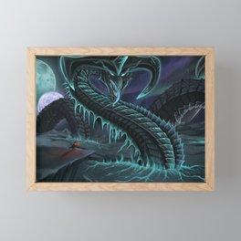 The World Shatterer Framed Mini Art Print