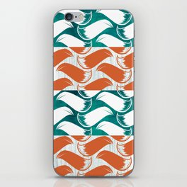 Foxhatched iPhone Skin