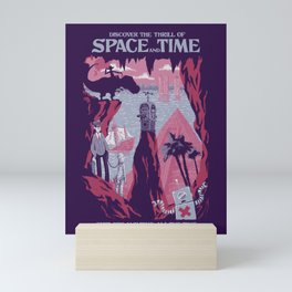 Space and Time Mini Art Print