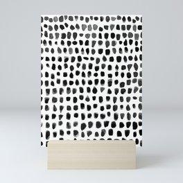 Watercolor Dots Mini Art Print
