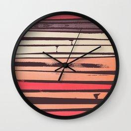 Peach 'N Creme Wall Clock