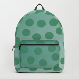 Design green dots emerald edition Backpack