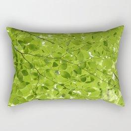 Leaves - JUSTART (c) Rectangular Pillow