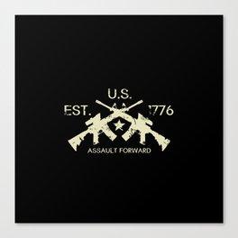 M4 Assault Rifles - U.S. Est. 1776 Canvas Print