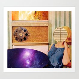 Space Is the Placemat Art Print