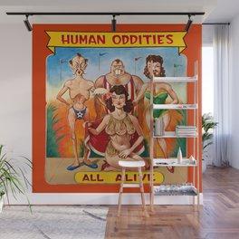 Sideshow Banner, Human Oddities Wall Mural