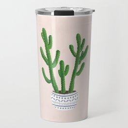Cactus Pink Travel Mug
