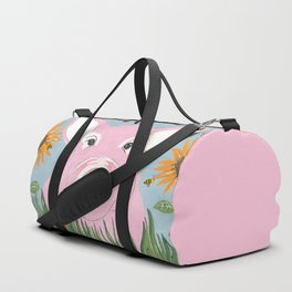 Pink Piggy Duffle Bag
