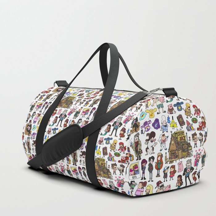 Cute Gravity Falls Doodle Duffle Bag