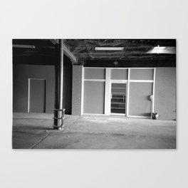 A Study in Carparks Canvas Print