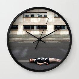 Wait in Berlin Wall Clock