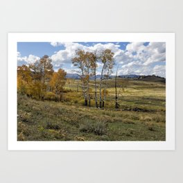 Lamar Valley in the Fall - Yellowstone Art Print