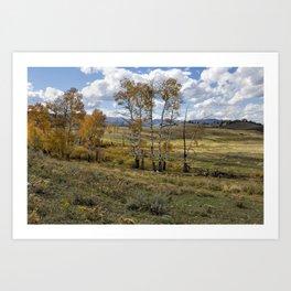 Lamar Valley in the Fall - Yellowstone Art Print