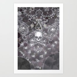 """Skull - from """"Further back"""" series Art Print"""